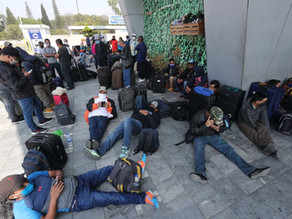 Frustran fuga masiva de migrantes con COVID-19 en Guatemala