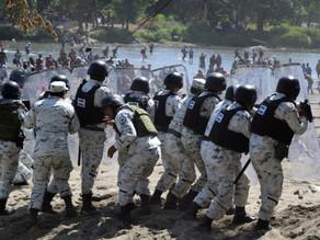"""""""Salvajada"""" que migrantes agredieran a Guardia Nacional"""
