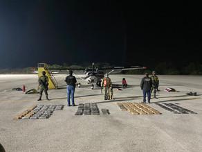 Investigan avioneta con 157 kilos de cocaína en Chiapas