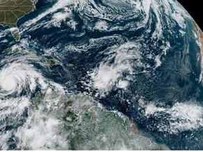 """El """"catastrófico"""" huracán Iota, categoría 5, más cerca de Nicaragua"""