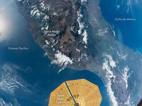 Increíble fotografía de la NASA revela cómo se ve realmente México desde el espacio