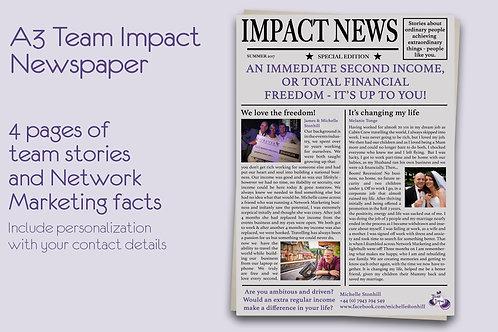 A3 Newspaper