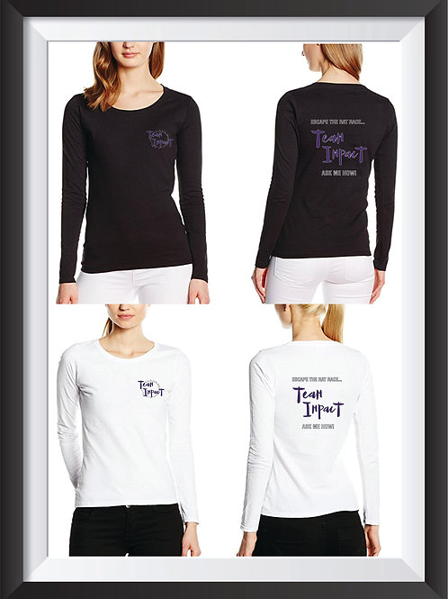 Branded Woman's Long Sleeve T
