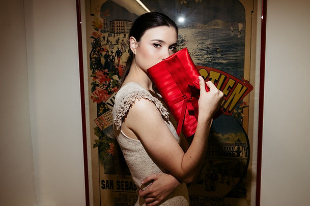 Slowbag clutch red