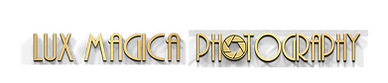 gold 3d letters Lux Magica ONE LINE.png