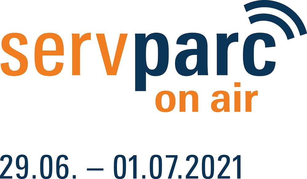 Logo Servparc on air
