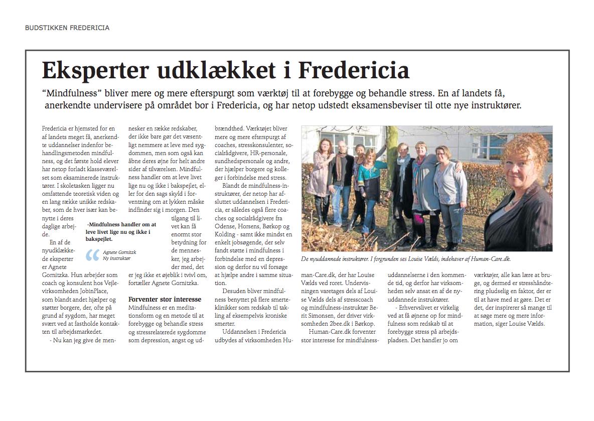 Eksperter udklækket i Fredericia