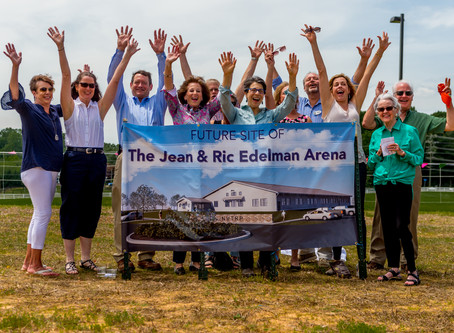 NVTRP to Build Jean and Ric Edelman Indoor Riding Arena