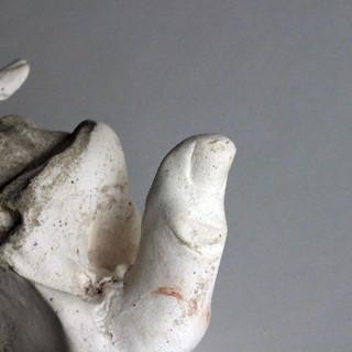 Stone Hand Detail