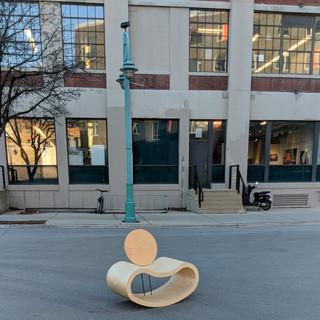 Bean Chair in Traffic