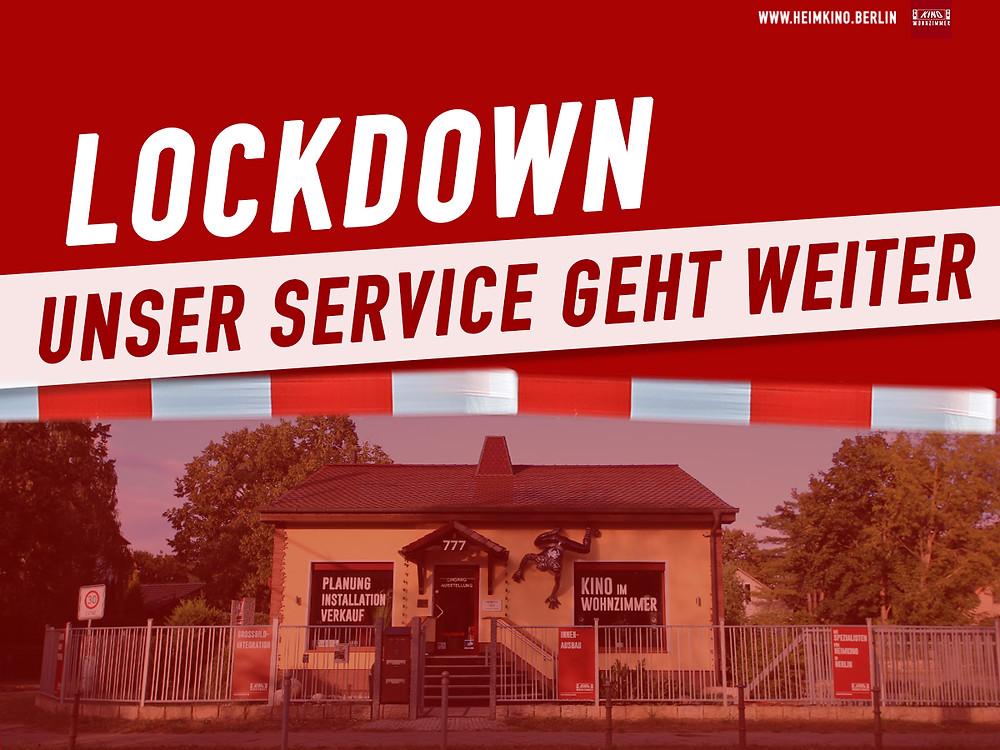 Unsere Öffnungszeiten während des Lockdown - HEIMKINORAUM Berlin/ Kino-im-Wohnzimmer