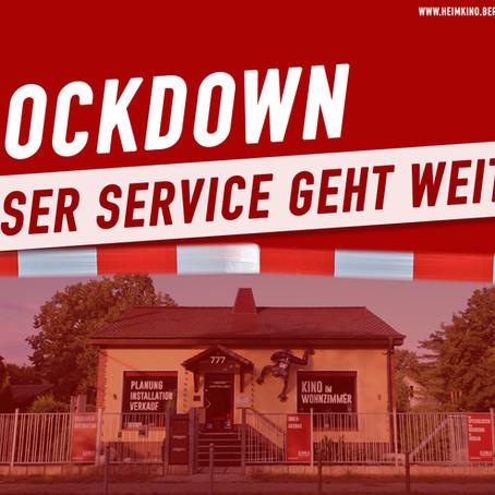 Öffnungszeiten während des Lockdowns