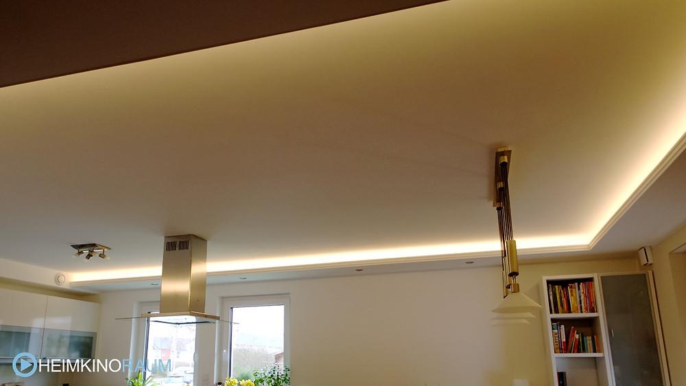 Lichtvoute in Küche