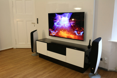 CW Entertainment Möbel mit Sockelfuß