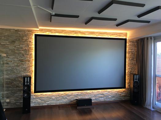 Heimkino-Super8-Leinwandbeleuchtung-Kino