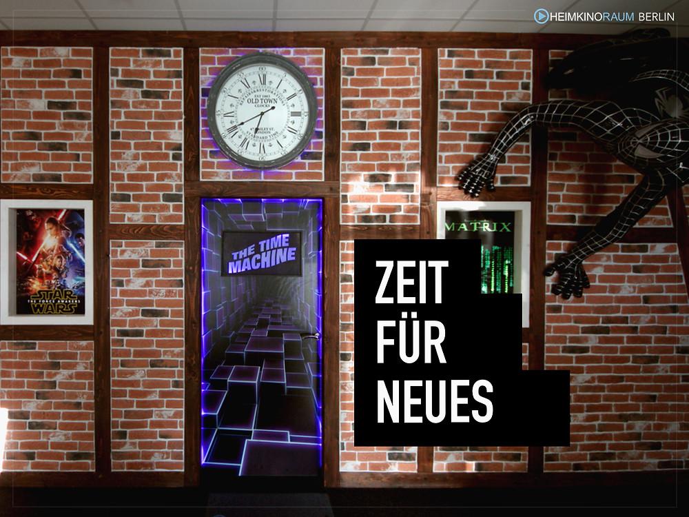 Zeit für neues im HEIMKINORAUM Berlin City Superstore