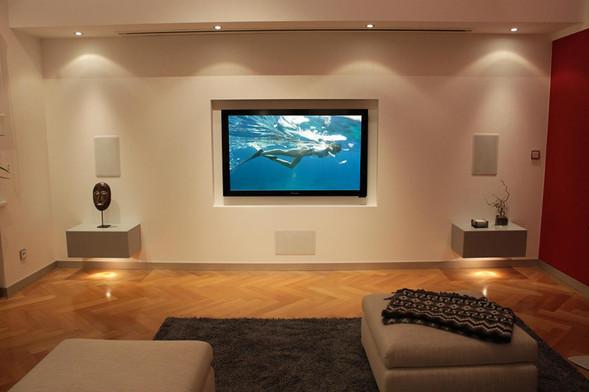 In-Wall-Lautsprecher-in Wohnzimmer-integ
