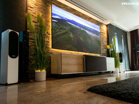 Unsere neuen LaserTV Möbel
