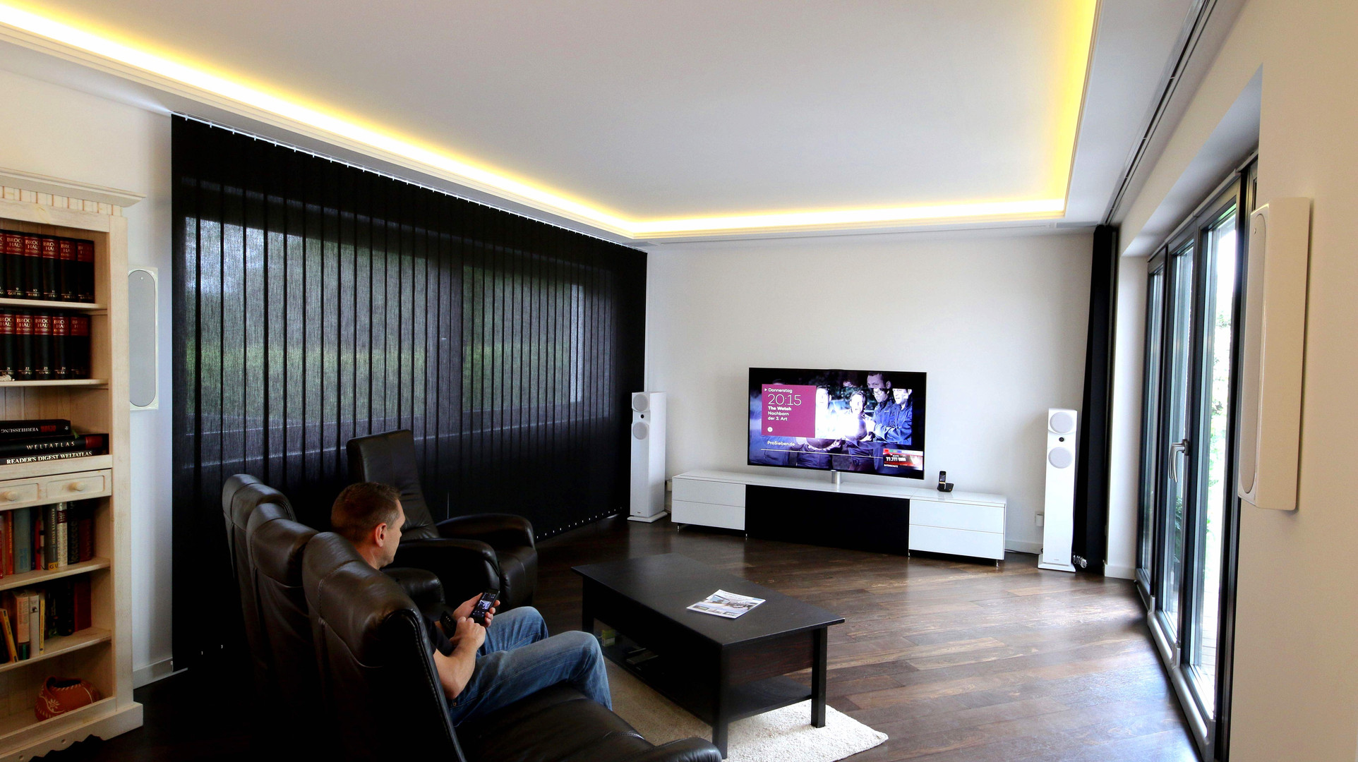 Heimkino All Inclusive-Kino-im-Wohnzimmer