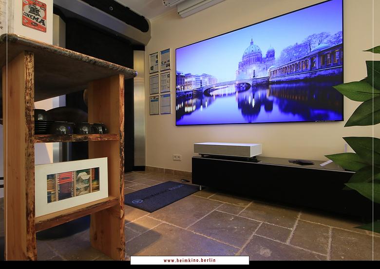 LG Vivo HU85LS 4K Laser TV Beamer