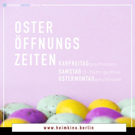 OSTER-ÖFFNUNGSZEITEN 🐰💐