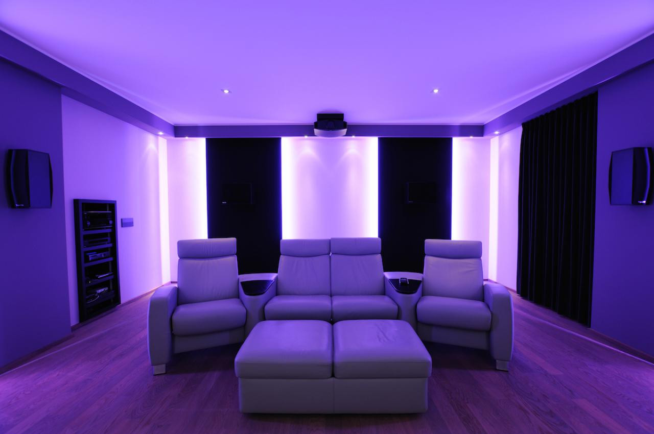 "Privat-Kino ""Purple Lounge"""