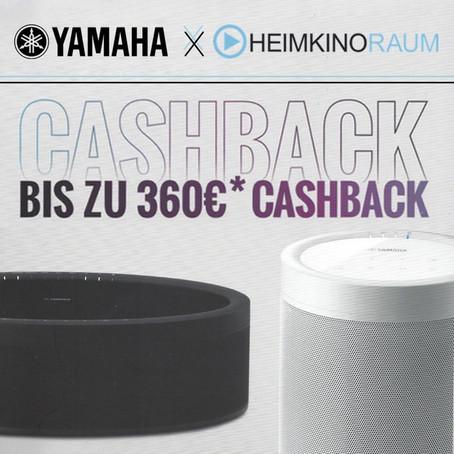 YAMAHA Cashback Aktion 2018