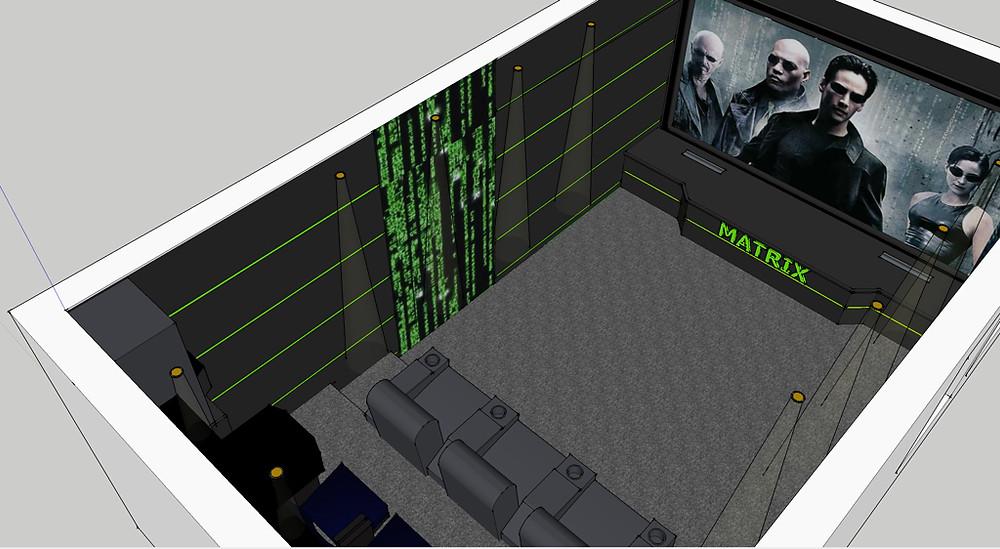 3D Skizze Privat-Kino