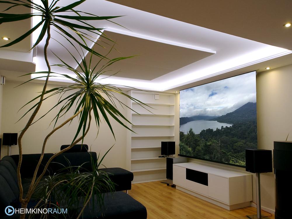 Lichtvoute in Wohnzimmer