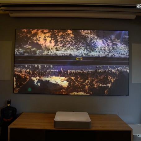 Neue In-Wall Lautsprecher in unserem Studio!
