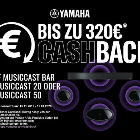 YAMAHA Cashback Aktion 2019!