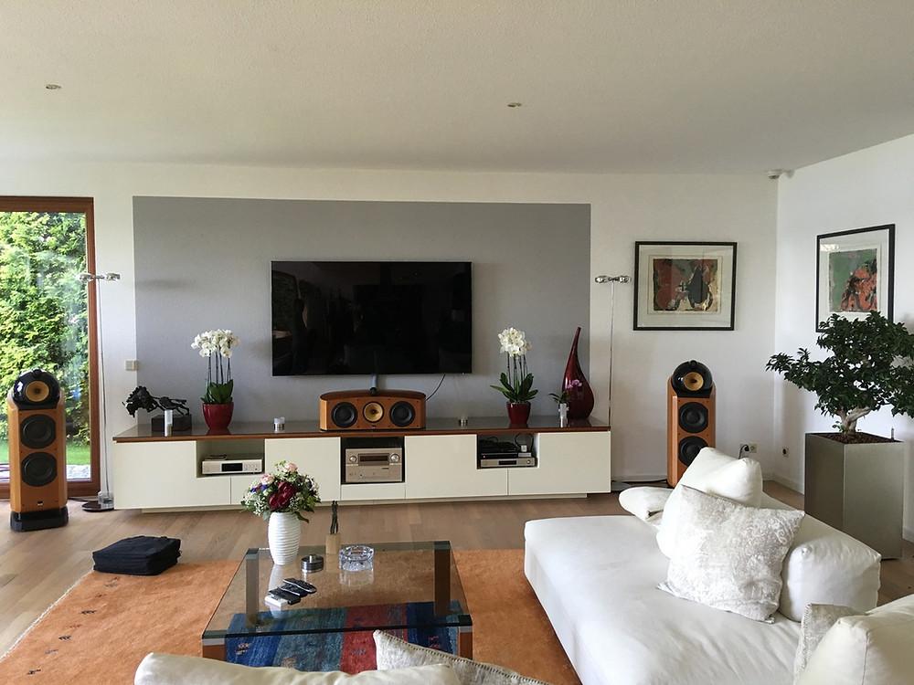 Vorherbild des Wohnzimmers