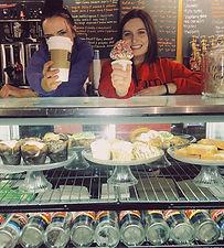 Churn Ice Cream and Coffee Employees