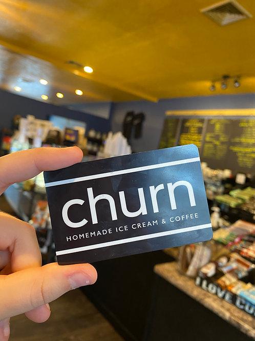 churn gift card $30