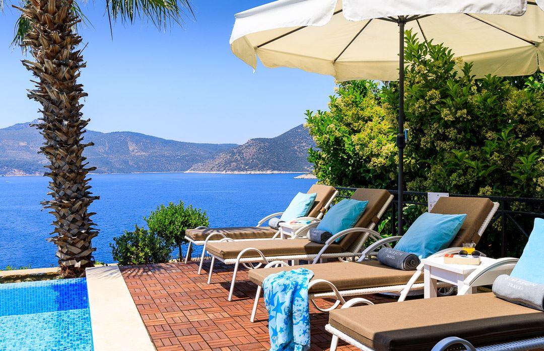 sunbed terrace