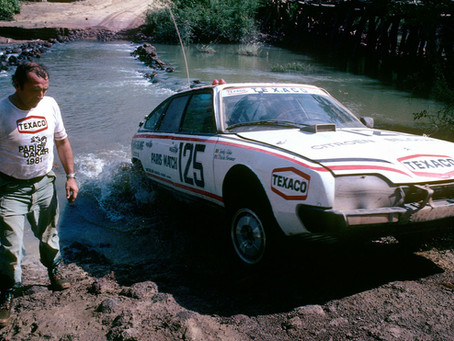 Watch Spotting: Digital Seiko Delivers in 1980's Dakar Rally