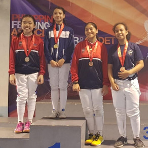 Philippines Fencing Association Minime, Junior and Cadet Competition 2019