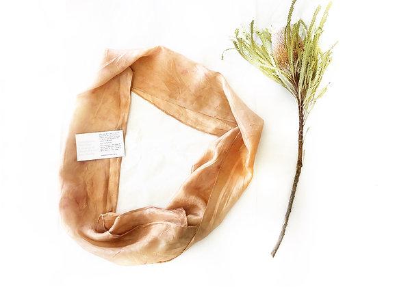 Eucalyptus Silk Hair/neck Scarf
