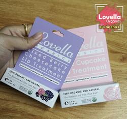 รีวิว Lovella Organics ลิปกลิ่นหอม แก้ปา
