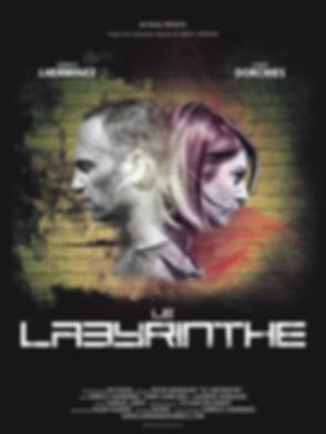 Affiche Fabrice Lherminez Le Labyrinthe