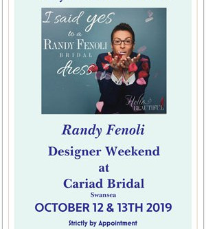 Randy Fenoli Trunk Show October 13th/14th