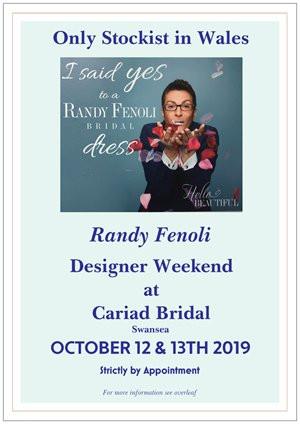 Randy Fenoli Trunk Show October 13th/14th
