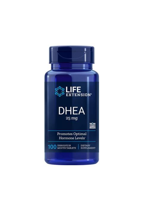 DHEA 25mg com 100 tabletes
