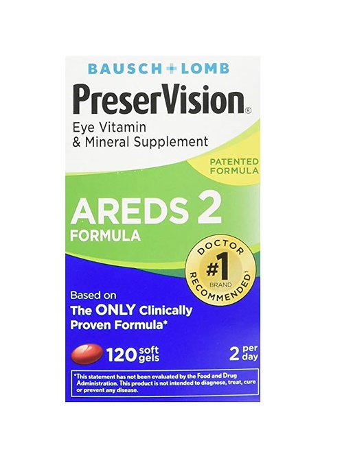 Preservision com 120 softgels