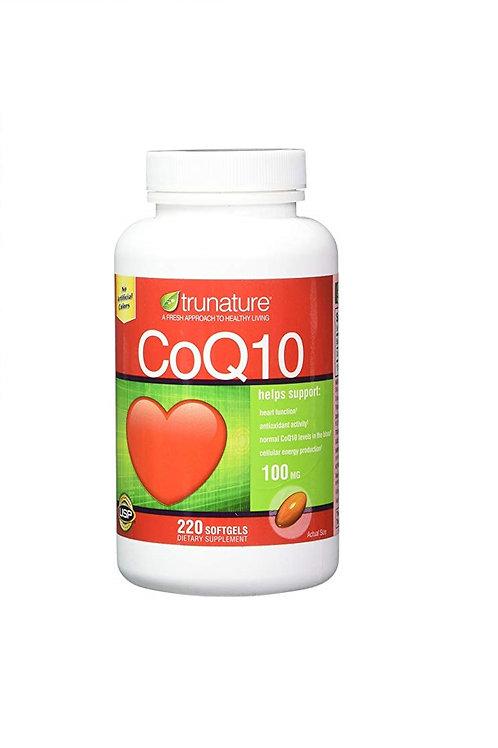 CoQ10 da TruNature de 100mg com 220 softgels