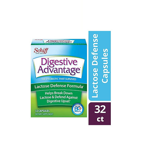Digestive Advantage Lactose Defense 32 cápsulas