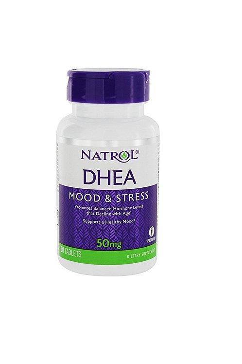 DHEA da Natrol de 50mg com 60 tabletes