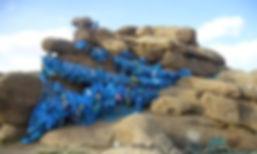 願いを叶えてくれる巨大な岩