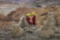有名であったオンギーン寺院の遺跡