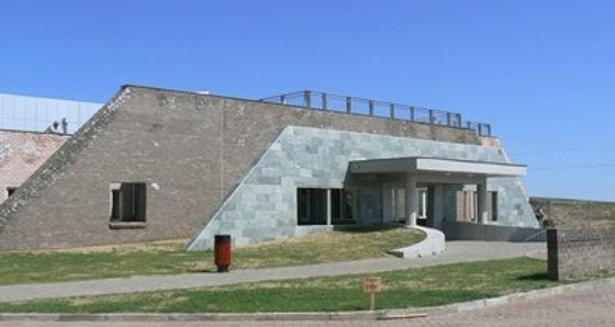 カラコルムい遺跡が展示されている博物館